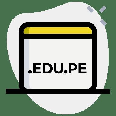 Registro de dominio .edu.pe